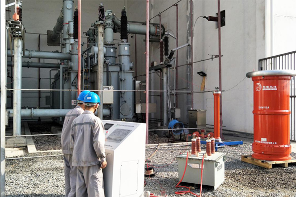 广西防城港110kV变电站检修调试项目