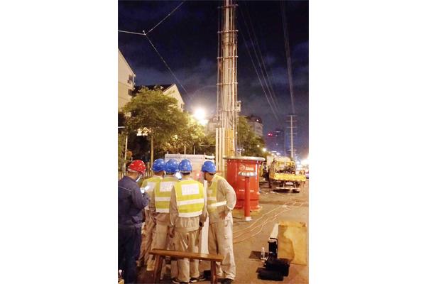 广西南宁110凤岭变电站扩建工程试验