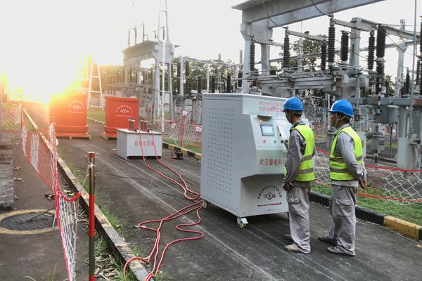 深圳市城市轨道交通 9 号线110kV电缆试验