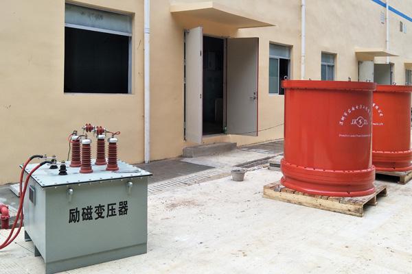 广西崇左市110kV宁明站至35kV花山变电站电缆耐压试验