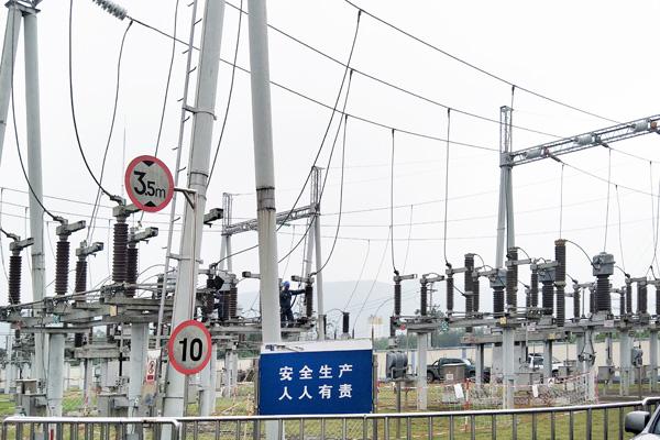 广西来宾市110kV迁江变电站1号主变局放试验