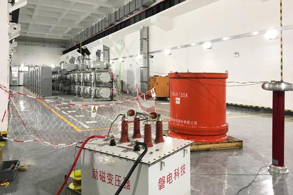 深圳福田220kV玳田变电站110kV电缆试验