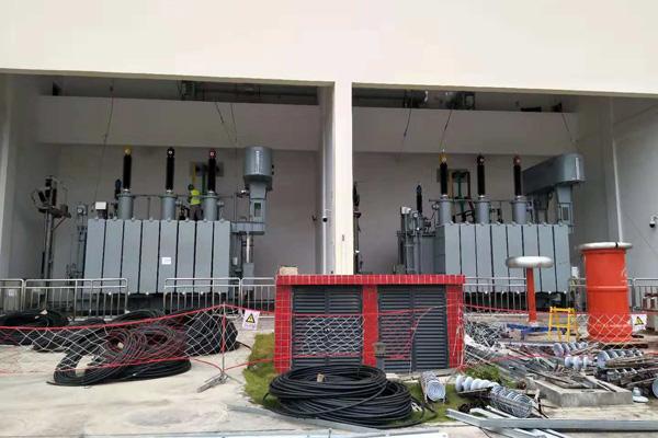 百色电力110kV六州变电站试验项目