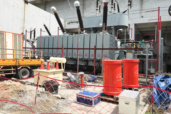 防城港盛隆冶金220kV变电站主变试验