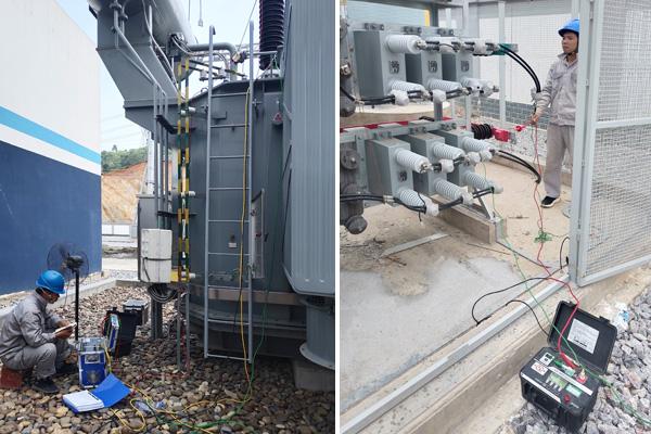 110kV变电站一、二次设备交接试验