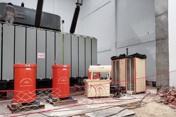 220kV赤钢变电站交接试验